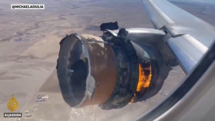 Boeing 777 Direkomendasikan untuk Stop Terbang di Seluruh Dunia setelah Mesin Meledak di Udara