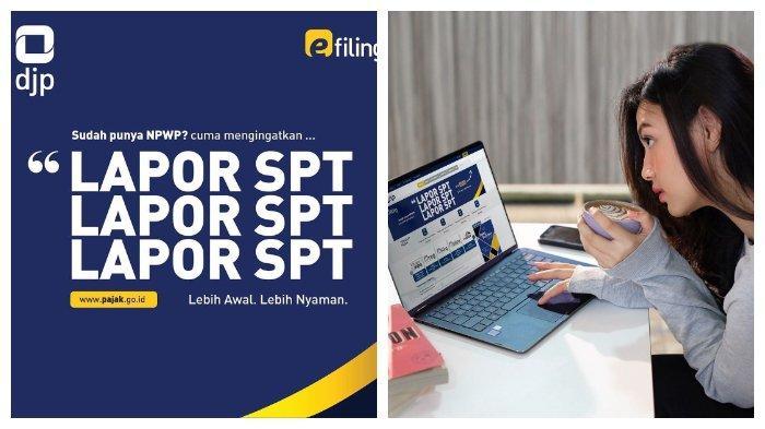 Cara Lapor SPT Tahunan di djponline.pajak.go.id, Berikut Cara Dapat EFIN secara Online