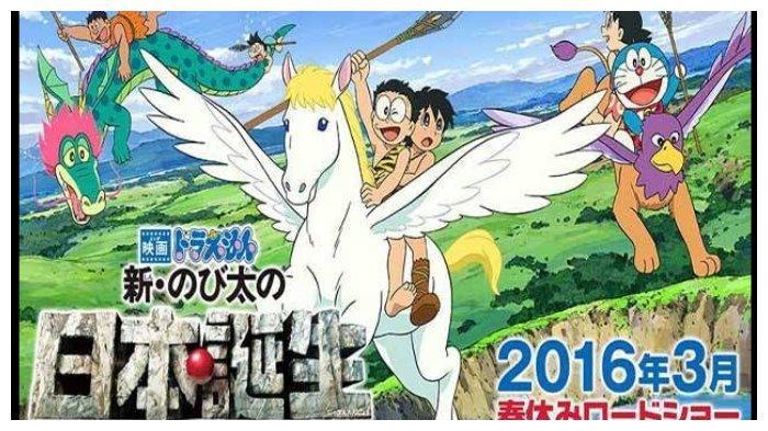 Sinopsis Film Doraemon: Nobita and The Birth of Japan, Zaman Prasejarah Jepang, Tayang Malam Ini